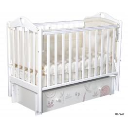 Детская кроватка ByTwinz Estelle Сафари (маятник универсальный)