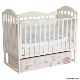 Детская кроватка ByTwinz Gabriella Сафари (маятник универсальный)