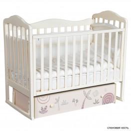 Детская кроватка ByTwinz Milania Сафари (маятник универсальный)