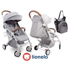 Прогулочная коляска Lionelo LO-JULIE Silver/Grey