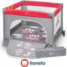 Манеж Lionelo LO-STELLA Pink Owls