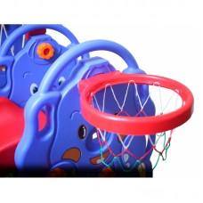 Детский комплекс Капризун Слоник с волнистой горкой