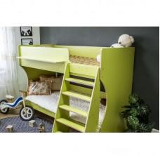 Двухъярусная кровать Р438 Капризун 3 лайм
