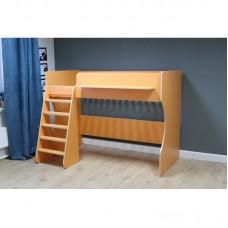Кровать чердак Р432 Капризун 1 оранжевый