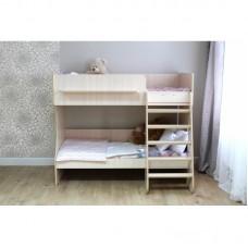Кровать двухъярусная Р434 Капризун 3 дуб млечный