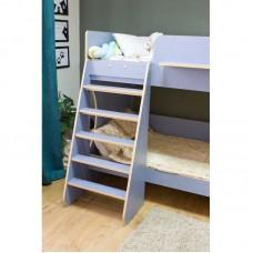 Двухъярусная кровать Р438 Капризун 3 лен голубой
