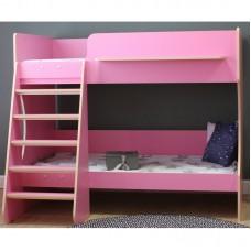 Кровать двухъярусная Р434 Капризун 3 розовый