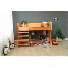 Кровать чердак Р436 Капризун 2 оранжевый