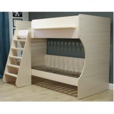 Двухъярусная кровать Р438 Капризун 3 дуб молочный