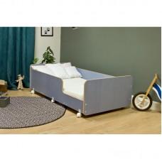 Кровать подростковая Р439 Капризун 4 лен голубой