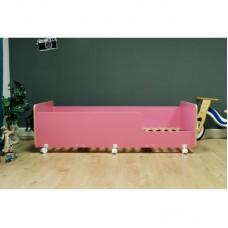 Кровать подростковая Р439 Капризун 4 розовая