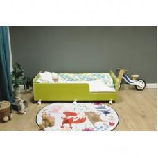 Кровать подростковая Р439 Капризун 4 лайм
