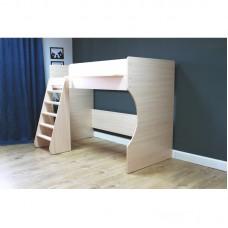 Кровать чердак Р432 Капризун 1 дуб млечный