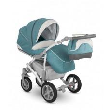 """Детская коляска Camarelo 2 в 1 """"VISION"""", Арт. XVi 3 бирюзовый"""