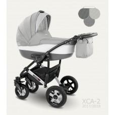 Детская коляска Camarelo 2 в 1 Carera (XCA-02) серый