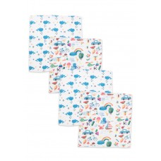Муслиновые салфетки 40х36 см Сонный Гномик Голубой