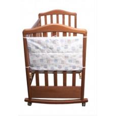 Карман в кроватку коллекция Софушки Сонный Гномик Голубой