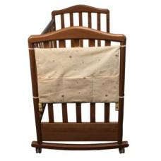 Карман в кроватку коллекция Оленята Сонный Гномик Бежевый
