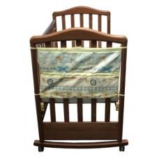 Карман в кроватку коллекция Акварель Сонный Гномик Голубой