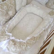 Комплект в кроватку Дуэт-2 «Дамаск капучино»