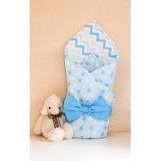 Конверт одеяло на выписку «Голубая лагуна»