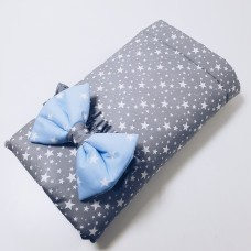 Конверт одеяло на выписку «Звездопад»