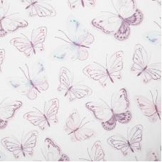 Бортики в кроватку «Бабочки»