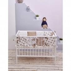 Комплект в кроватку «Шоколад звёзды»