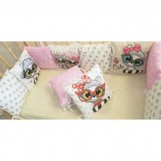 Комплект в кроватку «Хитрые котята»