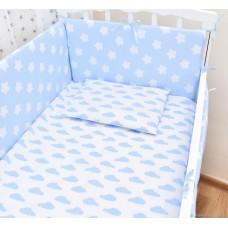 Бортики в кроватку «Голубое небо»