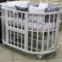 Кедр Sofia 2 6в1 кроватка трансформер с универсальным маятником