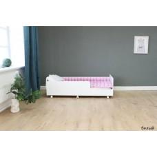 Подростковая кровать Красная Звезда Капризун 4 Р439 белый