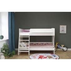 Двухъярусная кровать Красная Звезда Капризун 3 Р438 белый