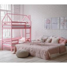 Кроватка-домик Агат Азалия Плюс (Зол.4)
