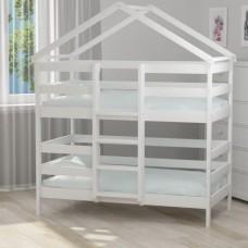 Кроватка-домик Агат Лилия Стандарт (Зол.15)