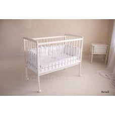 Детская кроватка Incanto Golden Baby, колесо