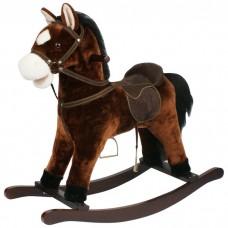 Качалка-лошадка Pituso Fandango (плюшевая- музыкальная)