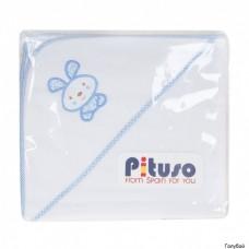 Пеленка для купания махровая Pituso На лужайке