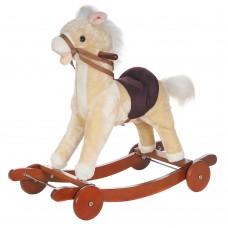 Качалка-пони Pituso Panadero с колёсами