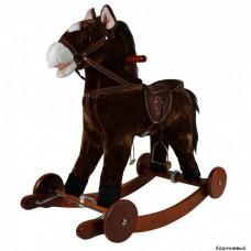 Качалка-лошадка Pituso с колёсами