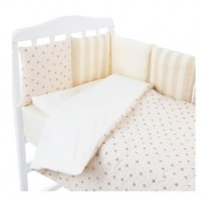 Комплект в кроватку Золотой гусь Амели, 17 предметов