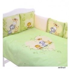 Комплект в кроватку Золотой гусь Лимпопо, 17 предметов