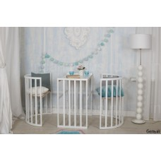Круглая кроватка Incanto MIMI DELUXE 7 в 1