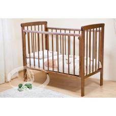 Детская кроватка Красная звезда МАШЕНЬКА С237 на колесах