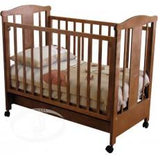 Детская кроватка Красная звезда СИЛЕНА С842 качалка на колесах
