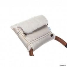 Муфта меховая для коляски Nuovita Alpino Bianco