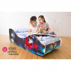 Детская кровать Бельмарко Кошка Мурка 160 на 70