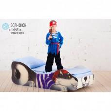 Детская кровать Бельмарко Волчёнок Пират 160 на 70