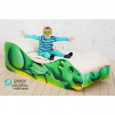 Детская кровать Бельмарко Дракон Задира 160 на 70