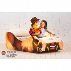 Детская кровать Бельмарко Лошадка Талисман 160 на 70